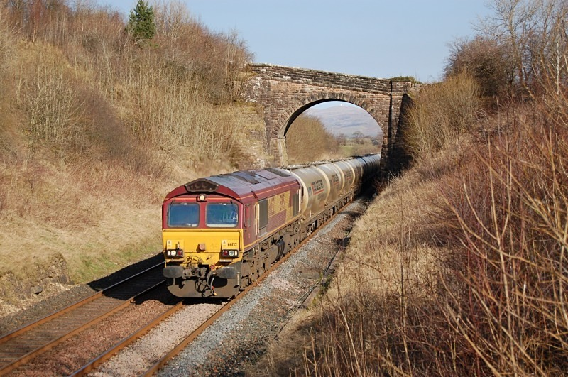 12.3.14 - 66132 6M00 Mossend - Clitheroe, Soulby Rd bridge - Soulby Road Bridge