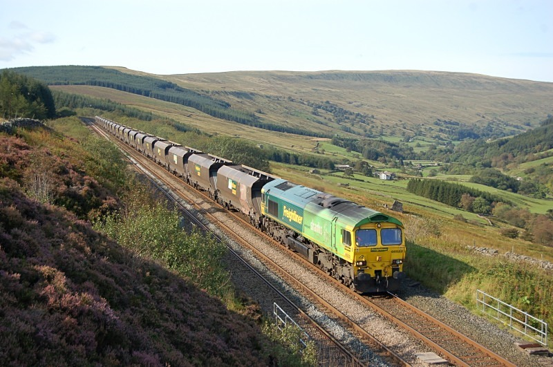 15.9.11 - 66522 4S11 Ferrybridge - Killoch, Rise Hill Tunnel, Garsdale - Rise Hill Tunnel North