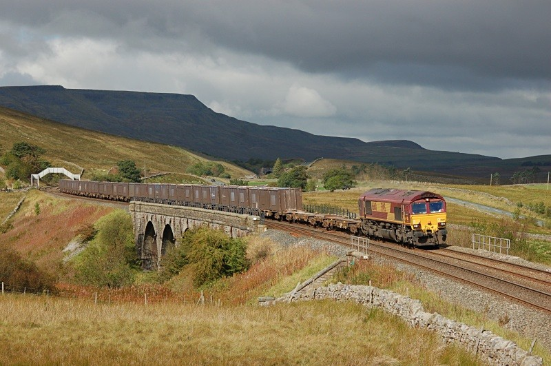 24.9.10 - 66160 6E13 Kirkby Thore - Milford, Lunds - Lunds - Southbound