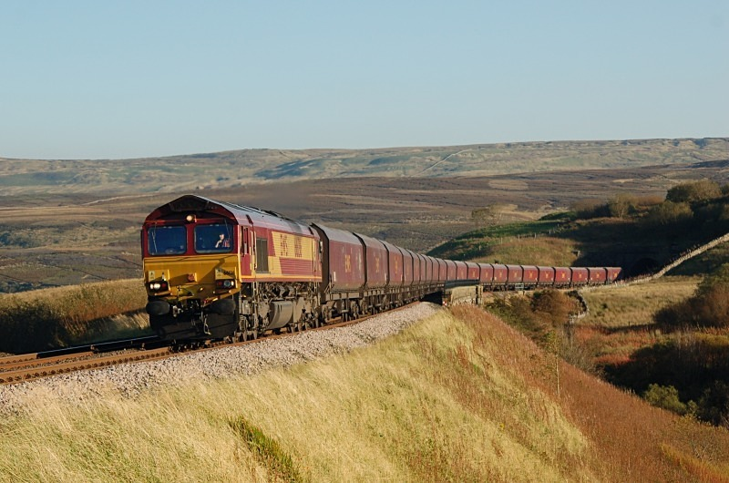 28.9.11 - 66136 4S93 Milford - New Cumnock, Lunds - Lunds - Northbound