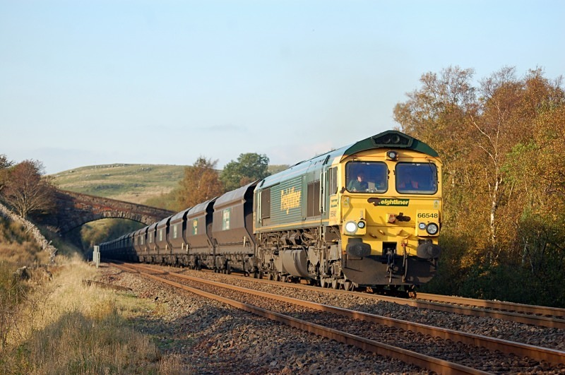 8.10.12 - 66548 6E21 Killoch - Ratcliffe, Low Frith - Low Frith