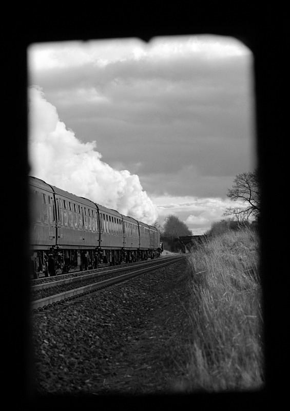 2.2.13 - A4 'Pacific' No.60009 'Union of South Africa', Town End Farm - Town End Farm