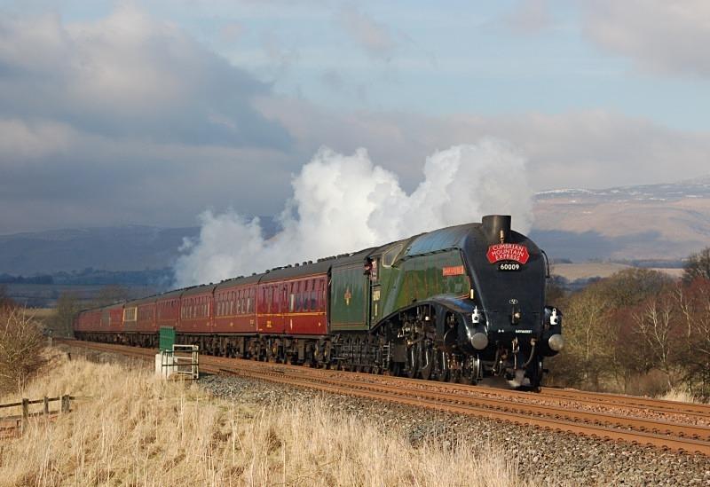 2.3.13 - LNER A4 No. 60009 1Z88 Carlisle - Euston CME, Town End Farm - Town End Farm