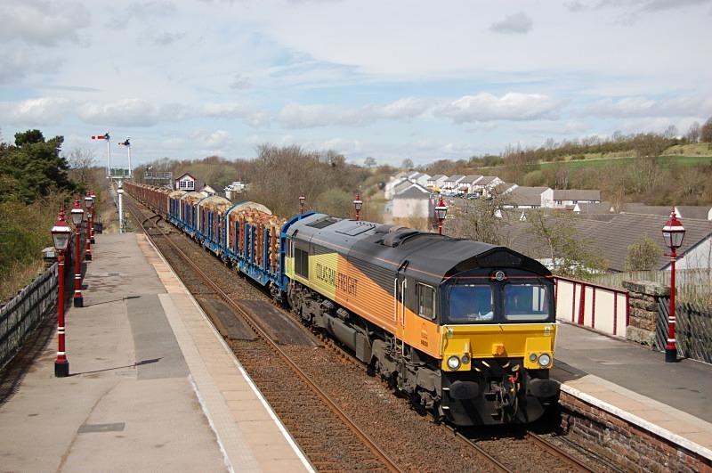 4.5.13 - 66850 6J37 Carlisle - Chirk, Appleby - Appleby
