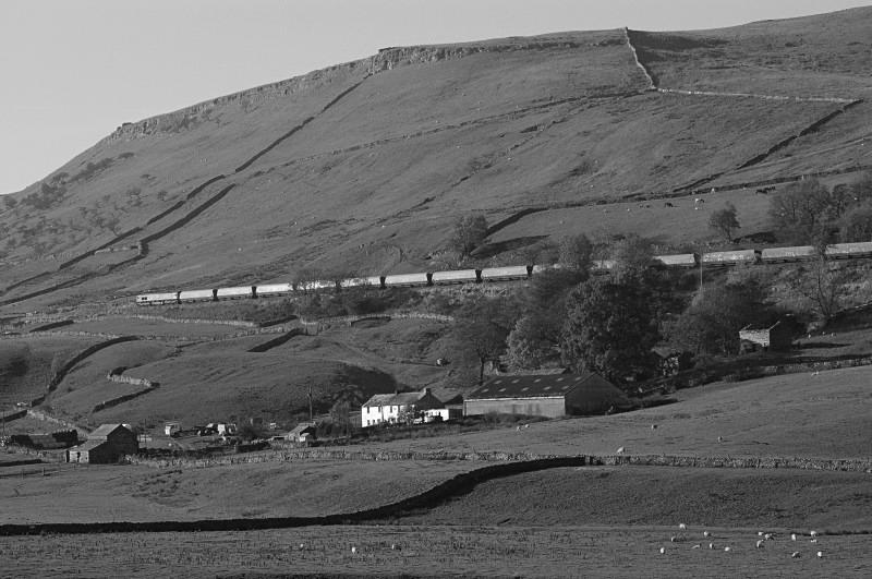 24.10.07 - 66181 6E24 Ayr - Eggbrough, Lock Hill - Lock Hill