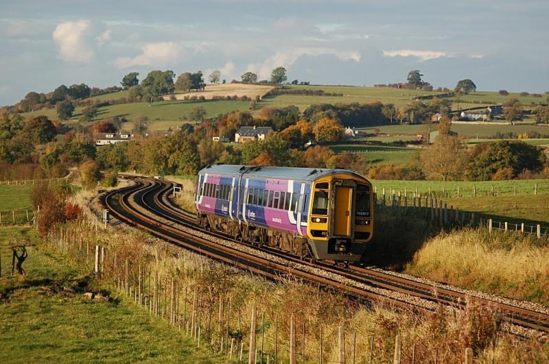 19.10.12 - 158817 16.18 Carlisle - Leeds, Langwathby - Langwathby