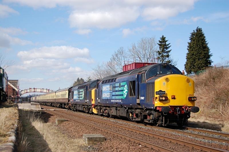 1.4.13 - 37607 & 37409 Dumbarton - Exeter St Davids, Appleby - Appleby