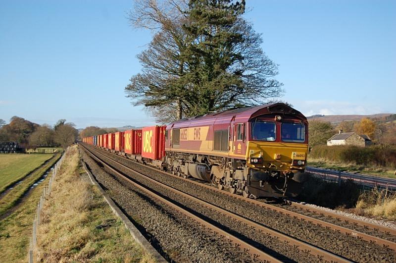 10.11.12 - 66053 6E62 Carlisle Yard - Tees Dock, Lipwood Well - Tyne Valley