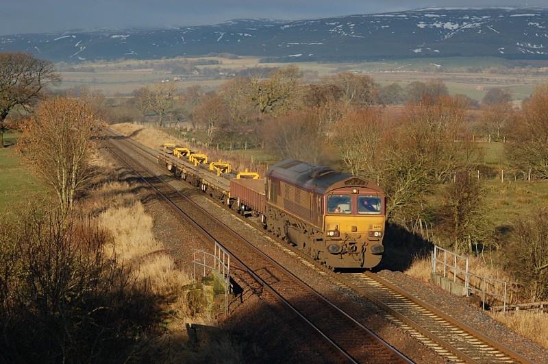 30.12.10 66105 6K05 Carlisle - Crewe, Keld - Keld