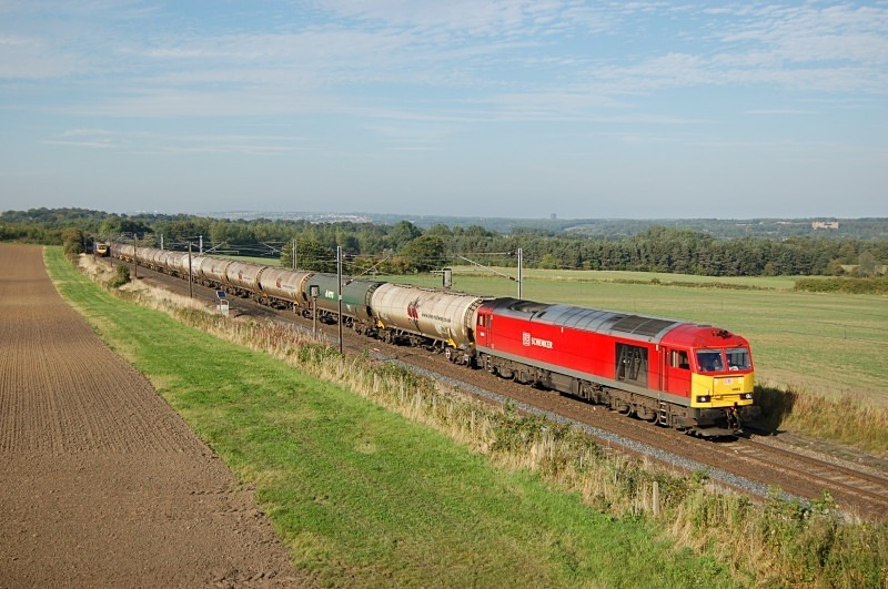 23.9.13 - 60063 6D43 Jarrow - Lindsey, Plasworth - East Coast Main Line
