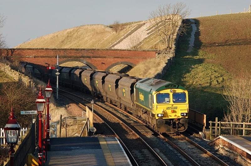 18.12.07 - 66582 6Z74 New Cumnock - Ratcliffe, Kirkby Stephen - Kirkby Stephen