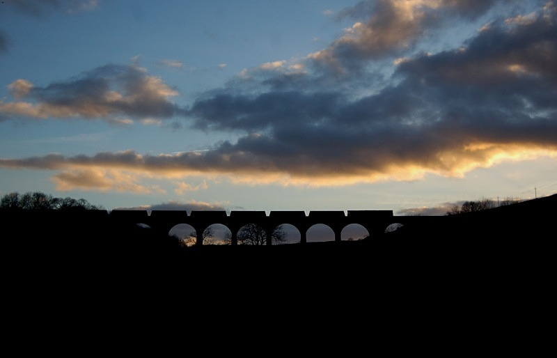 1.3.13 - 66211 4S93 Milford - Hunterston, Smardale Viaduct - Smardale viaduct