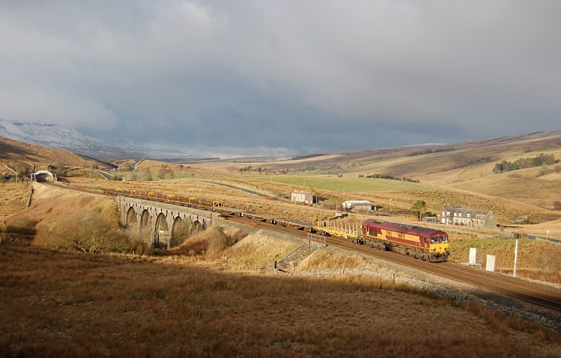 5.12.12 - 66174 6K05 Carlisle - Crewe, Lunds - Lunds - Southbound