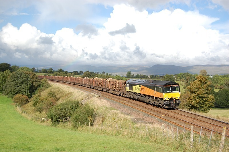 26.9.12 - 66849 'Wylam Dilly' 6J37 Carlisle - Chirk, Gallansay - Gallansay