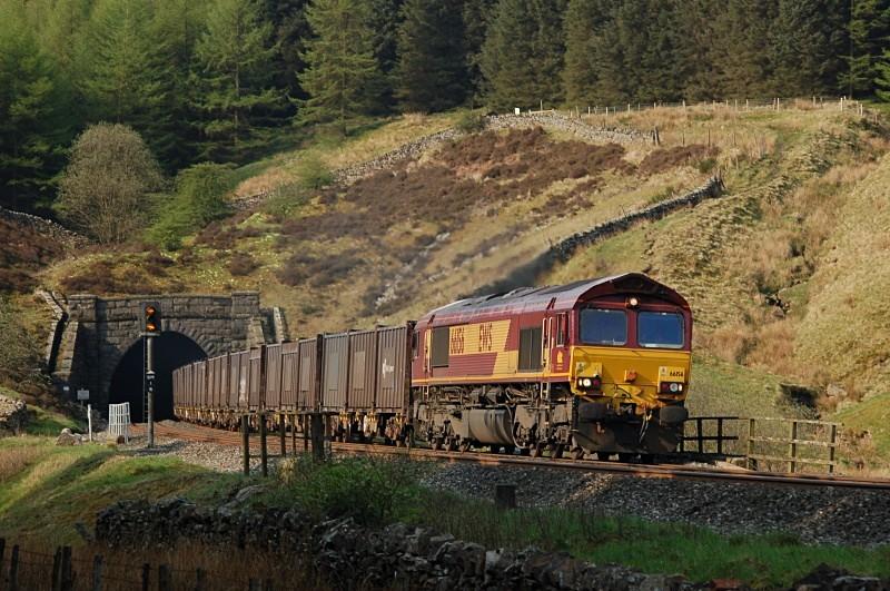 7.5.08 66156 6M20 Drax - Kirkby Thore, Blea Moor Tunnel - Blea Moor Tunnel