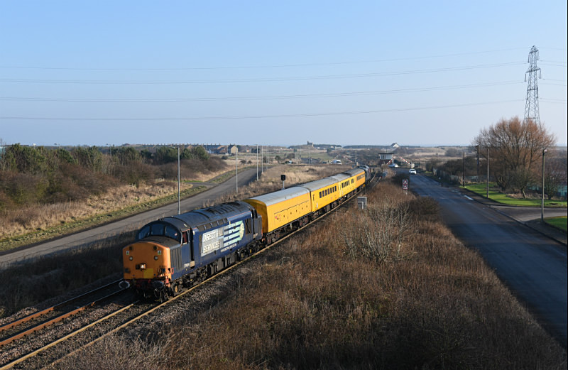 JL - 23.1.17 37604 &37608 1Q05 Derby RTC- Tees Yard, Freemans Crossing - Elsewhere on the network