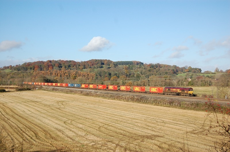 10.11.12 - 66053 6E62 Carlisle Yard - Tees Dock, Westwood - Tyne Valley