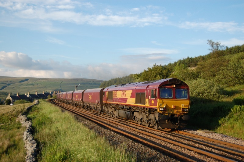 25.6.12 - 66185 6E68 New Cumnock - Drax, Garsdale - Garsdale - South