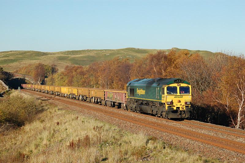JL - 2.11.15 66535 6K05 Carlisle - Crewe, Low Frith - Low Frith