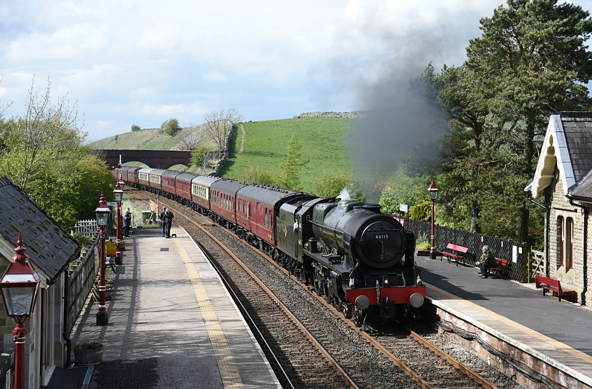 JL - 13.5.17 46115 1Z87 Carlisle  - Farrington, Kirkby Stephen - Kirkby Stephen