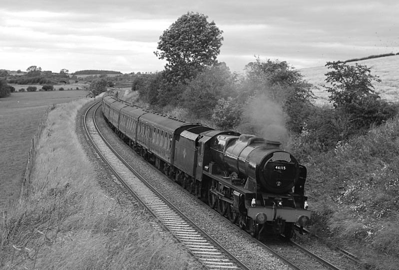 22.7.12 - LMS 'Royal Scot' 46115 Carlisle - York Waverley, Staingills - Staingills Farm