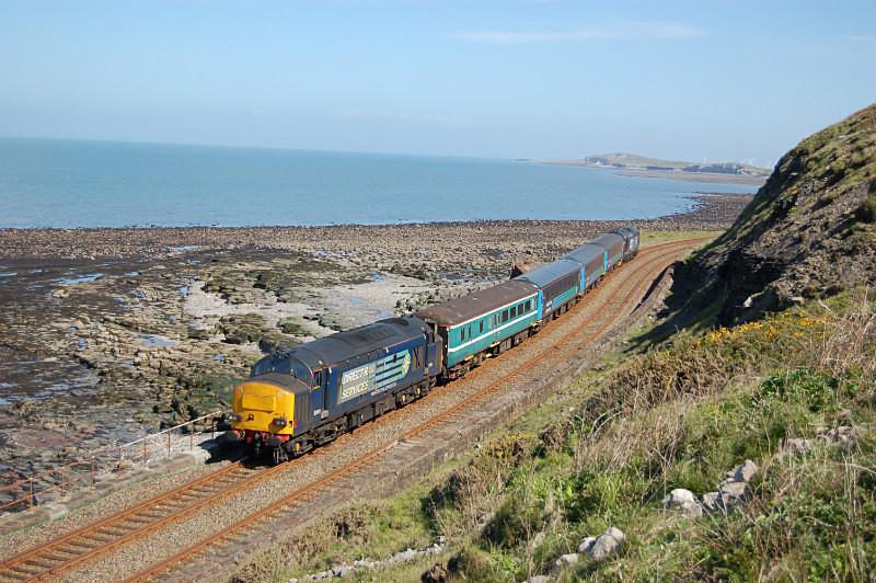 JL 23.5.15 37611 2C41 08.45 Barrow - Carlisle, Catt Gill - Cumbrian Coast