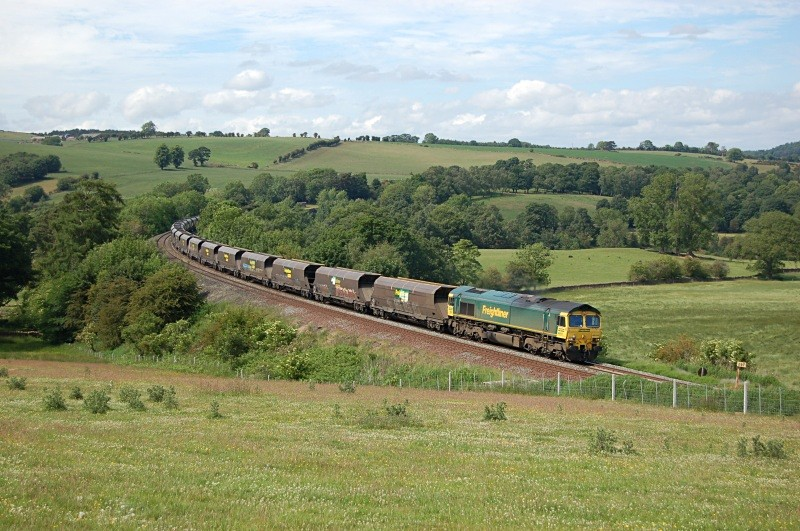 21.6.10 66515 6M32 Greenburn - Ratcliffe, Armathwaite - Armathwaite