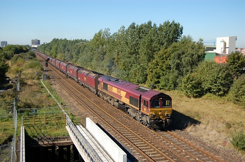 23.9.13 - 66089 4N65 Eggbrough - Redcar, Cargo Fleet. - Teesside