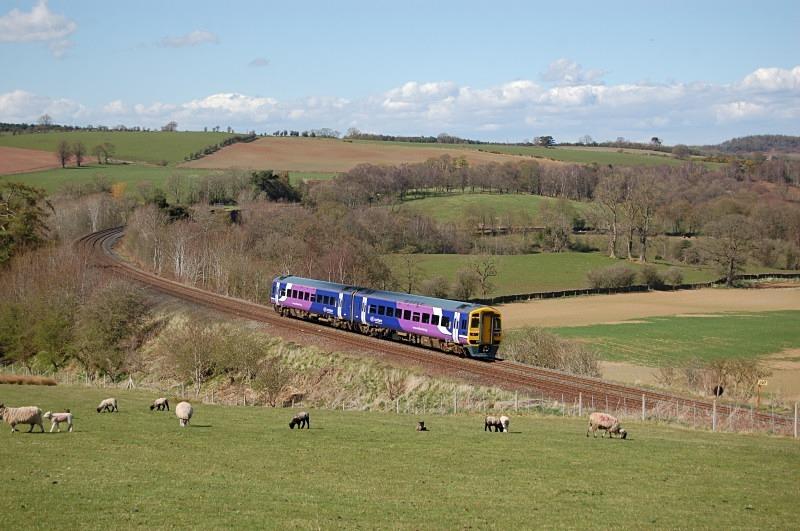30.4.13 - 158748 14.49 Carlisle - Leeds, Armathwaite - Armathwaite
