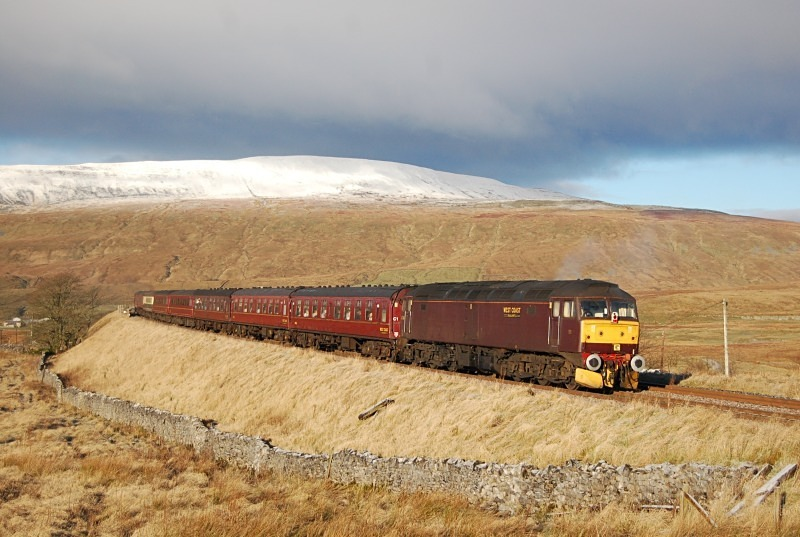 5.12.12 - 47760 1Z75 Blackpool - Edinburgh, Ribblehead - Ribblehead