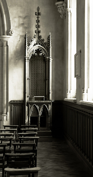 The pulpit - Window light