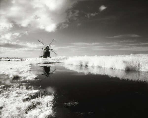 Smock Mill - The Norfolk Broads