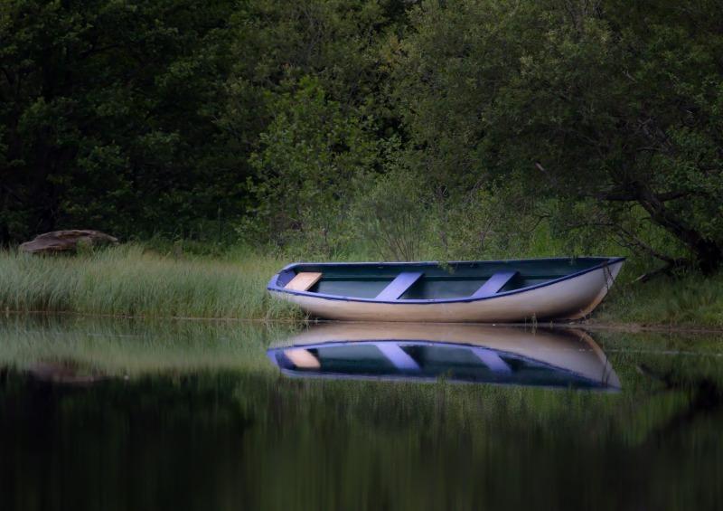 Boat on Insh - Beaches / Coast