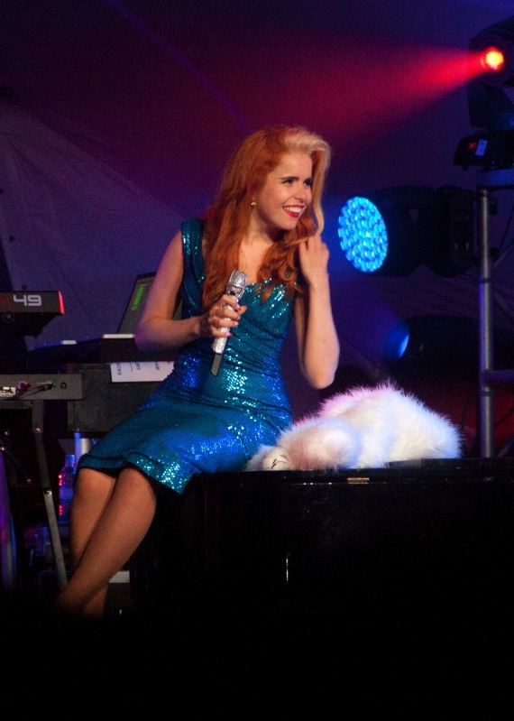 Paloma Faith at Larmer Tree - Photojournal