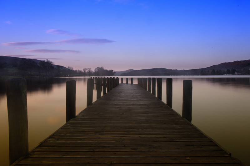 Coniston Jetty-2 - Slow water