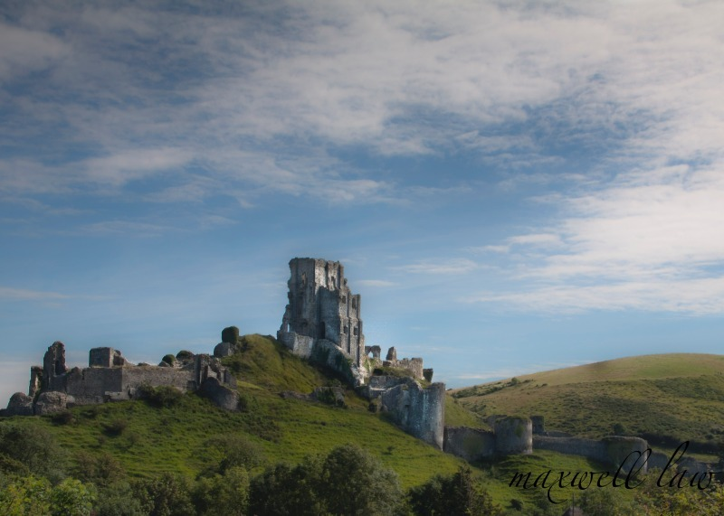 Corfe Castle-2 - Mountains, Moorland and pasture.