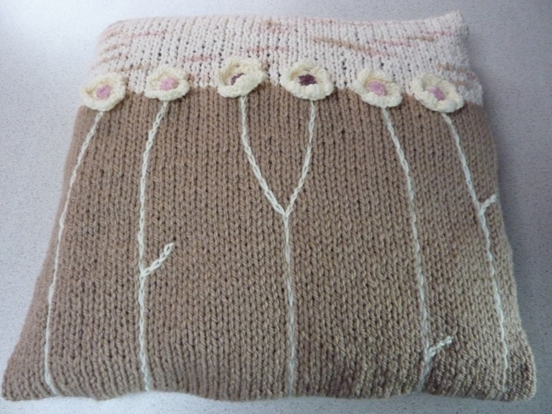 1 Cushion cover back - Marion Carrier Crafts