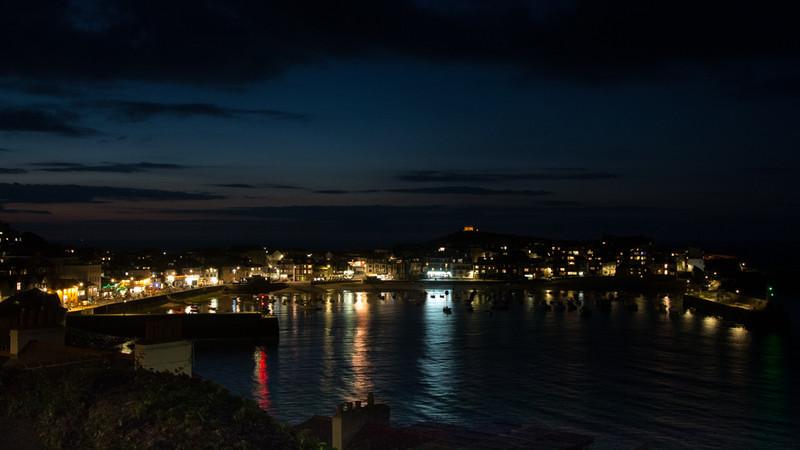 St Ives at night - Beaches / Coast