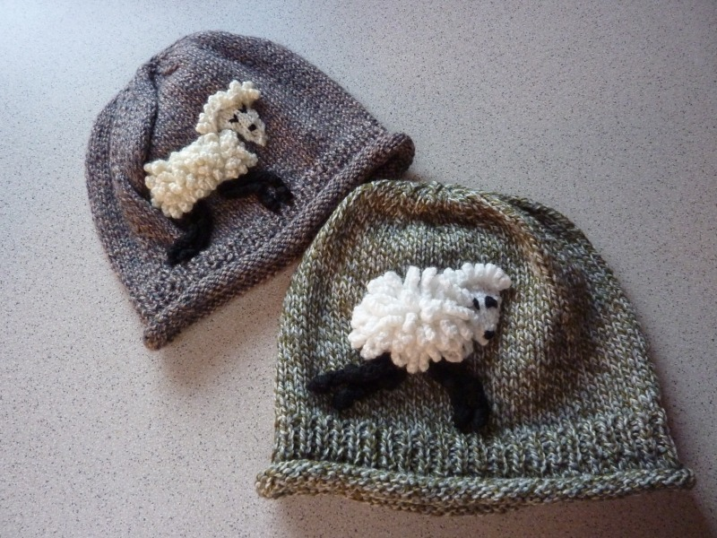 Sheep Beanies - Marion Carrier Crafts