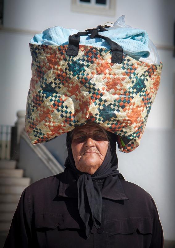 Bag lady - Photojournal