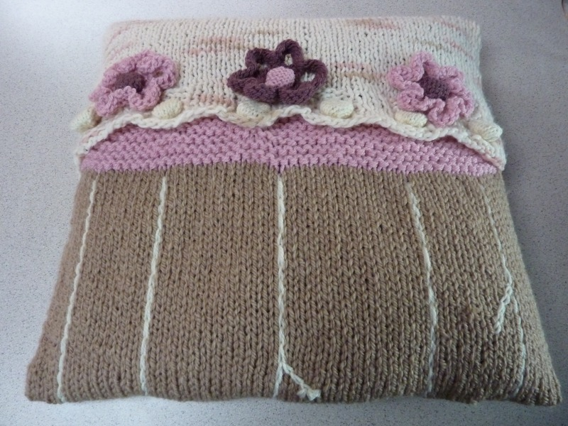 1 Cushion cover front - Marion Carrier Crafts