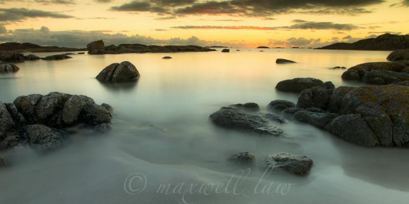 Sunset over Iona-2 - Magic hour/s