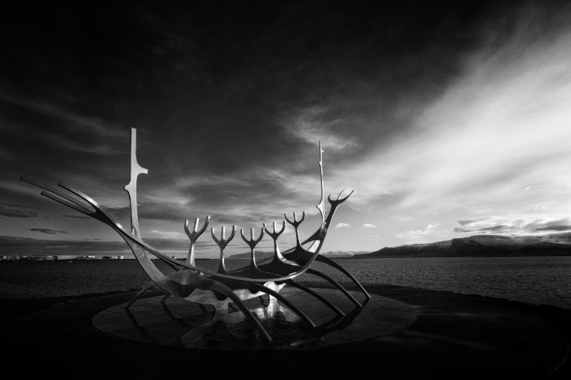 Rejkavik- The Sun Voyager - Landscape and Travel