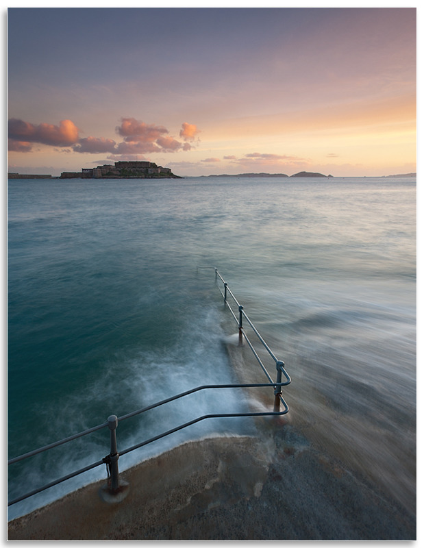 12139158 - Bathing Pools & Castle Cornet - Guernsey Landscapes - Gallery 2