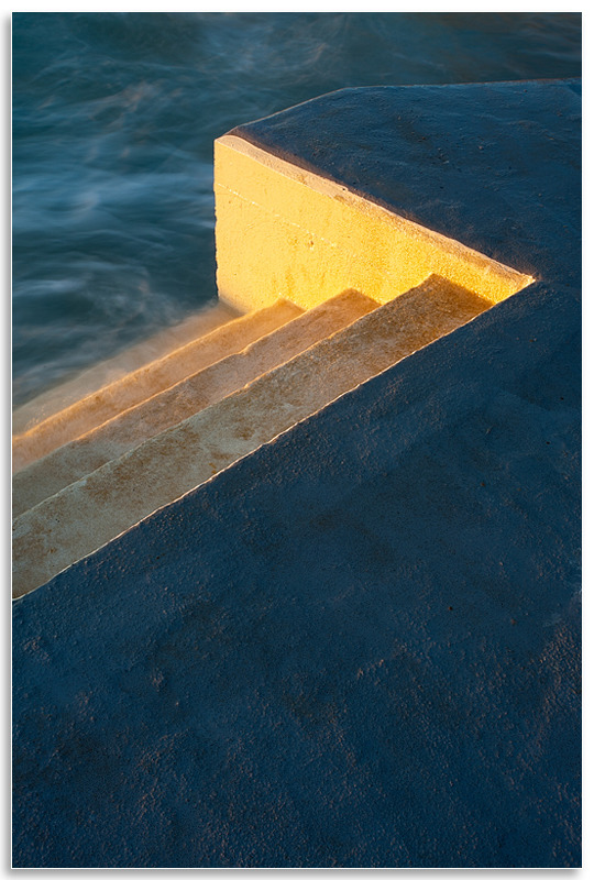 05116215 - Bathing pool steps - Guernsey Landscapes - Visions Gallery