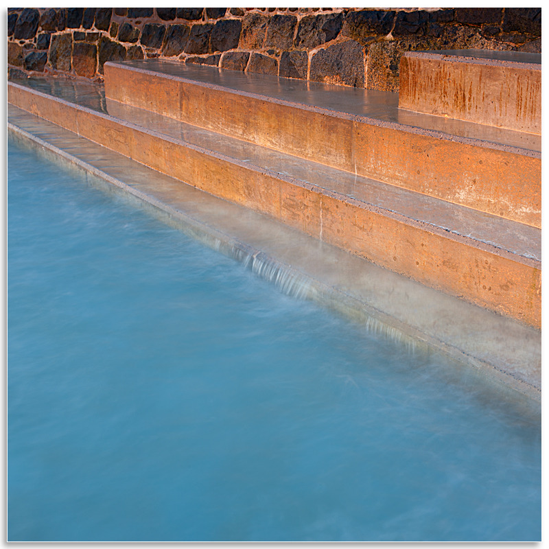05116175 - Bathing pool steps - Guernsey Landscapes - Visions Gallery