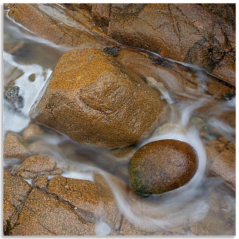 03077885 - Rock detail, La Port aux Malades - Guernsey Landscapes - Visions Gallery