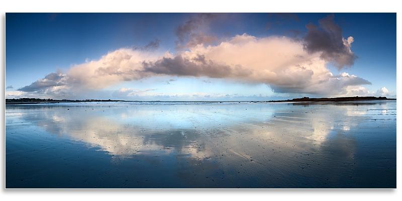 02143435 - Vazon Panorama - Guernsey Landscapes - Panoramic