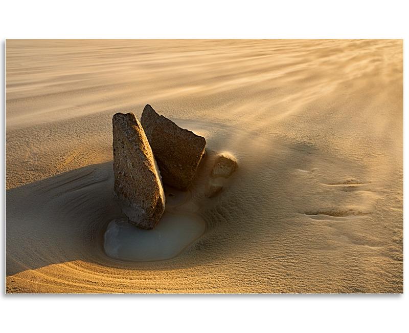 03080822 - Drifting sands, Pembroke Bay - Guernsey Landscapes - Visions Gallery