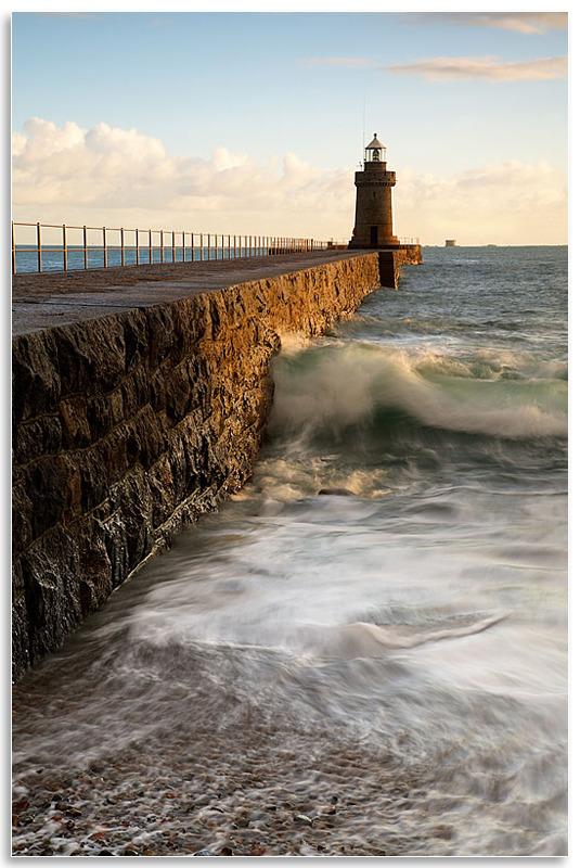 02077492 - Caste Cornet Breakwater - Guernsey Landscapes - Gallery 2